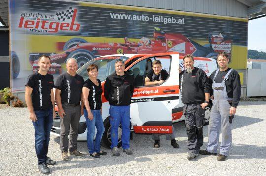 Autohaus Leitgeb Team in Althofen